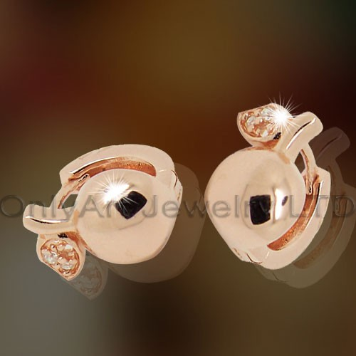 925Plain Silver Cheap Earrings OAE0017