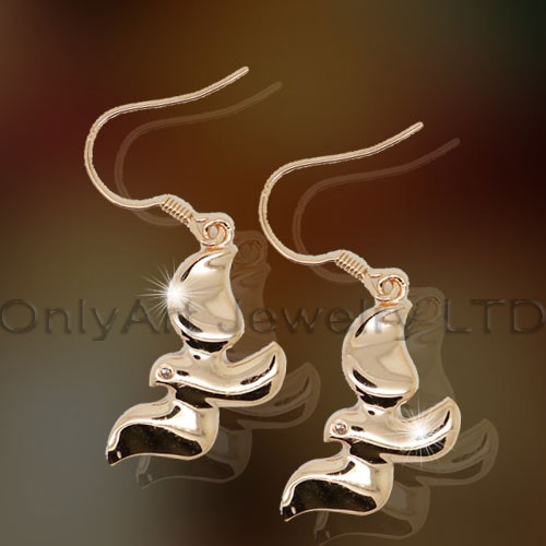 925Plain Silver Animal Earring OAE0020