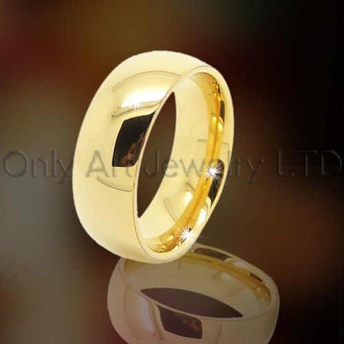 Golden Tungsten Jewelry OAGR0025