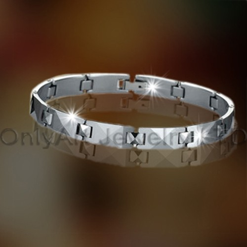 Tungsten Carbide Best Friend Bracelets OAGB0006