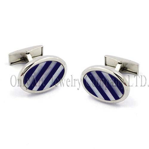 designed mechanical backing charming metal cufflink