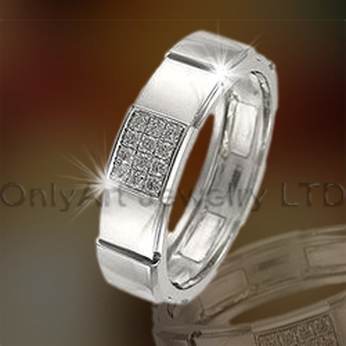 Newest 925 Sterling Silver Engagement Band OAR0003