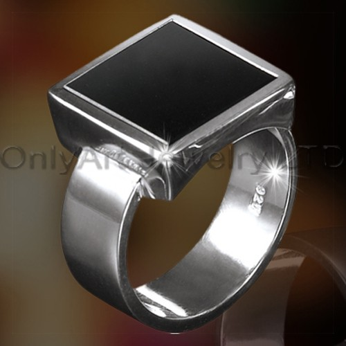 Fashion Mens 925 Sterling Silver Jewelry OAR0005