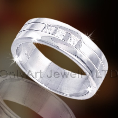 Silver Or Brass Fashion Ring OAR0012