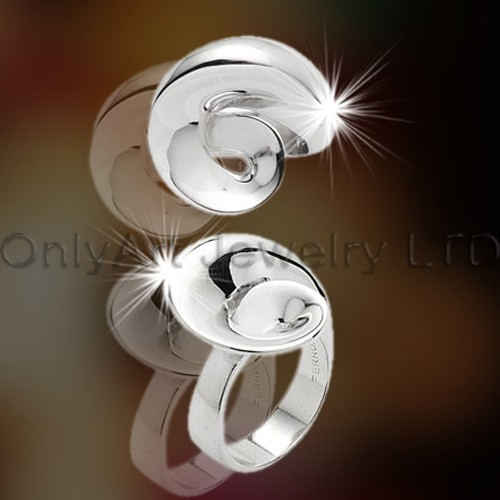 Fashionable Design Silver Rings Jewelry OAR0039