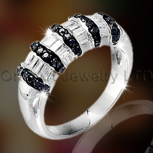 Sterling Silver 925 Engagement Band OAR0052
