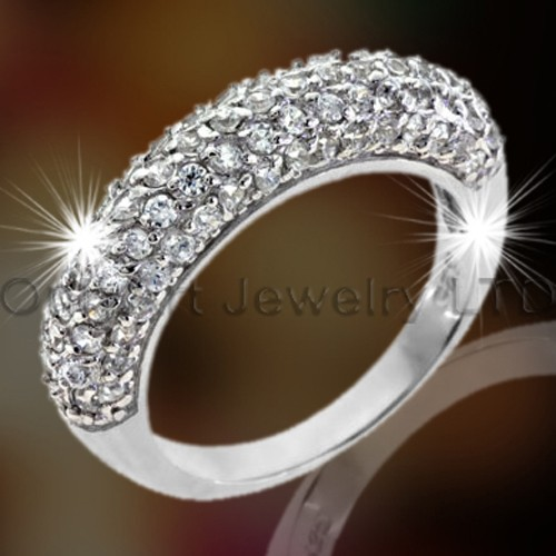 Silver Engagement Band OAR0053