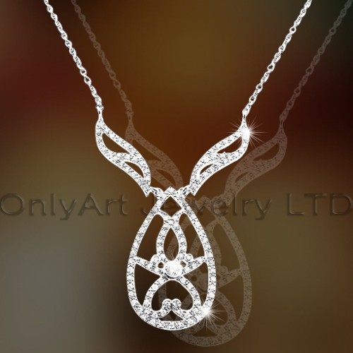 925 Silver Necklace OAN0006