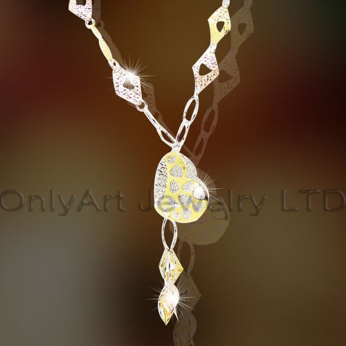 925 Silver Necklace OAN0022